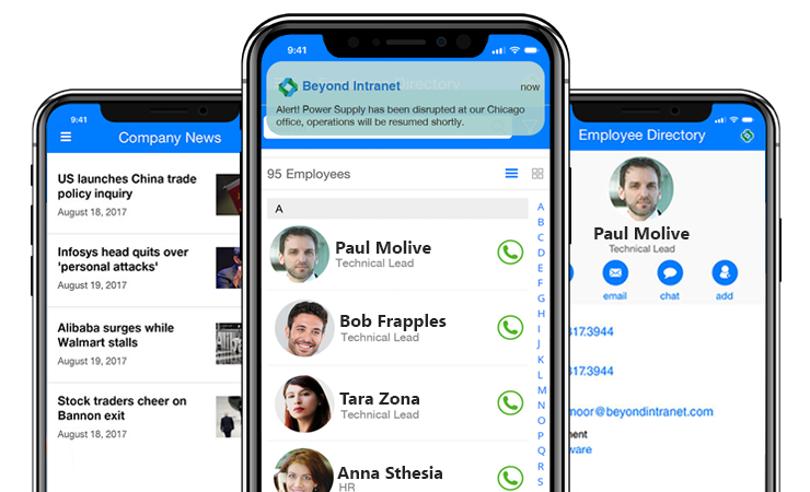 Beyond Intranet Mobile App