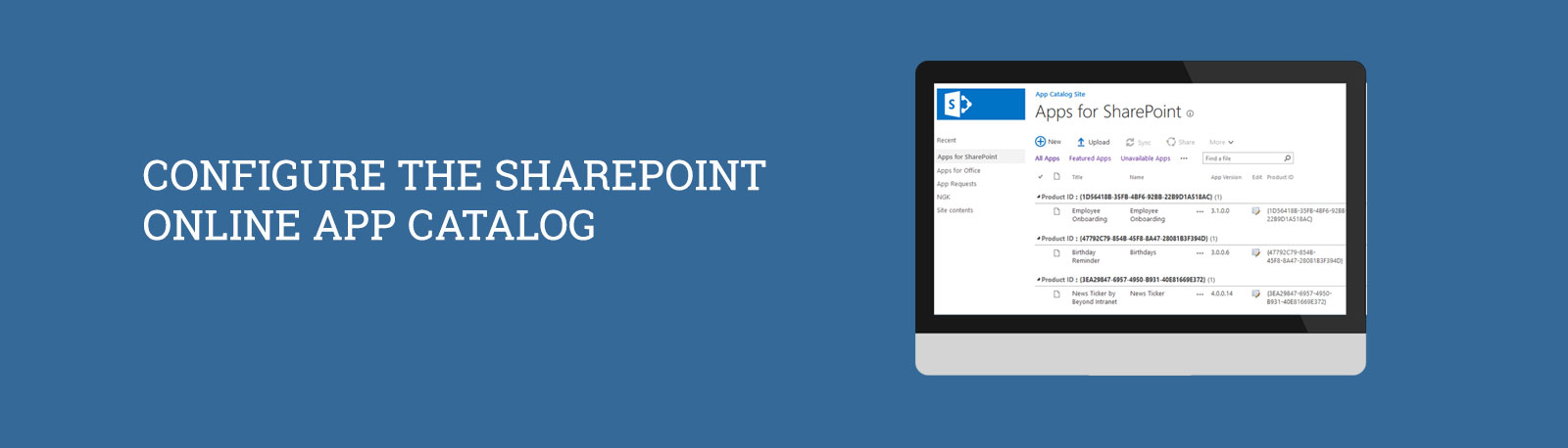 SharePoint Configuration