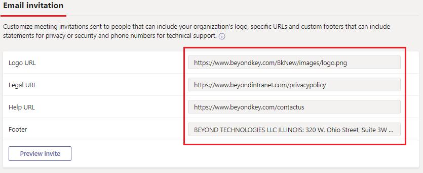 Microsoft Teams Customization