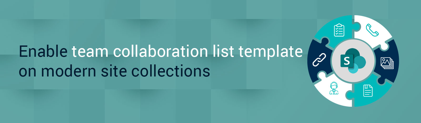 Enable Team collaboration list templates on modern site collections