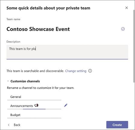 Details of MS Teams
