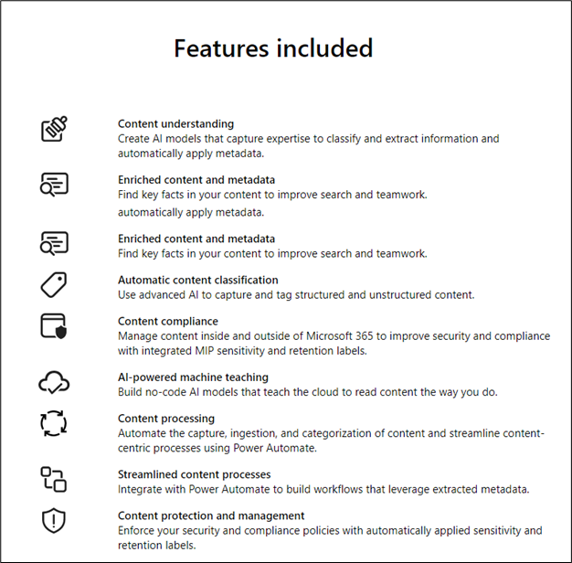 Features of SharePoint Syntax