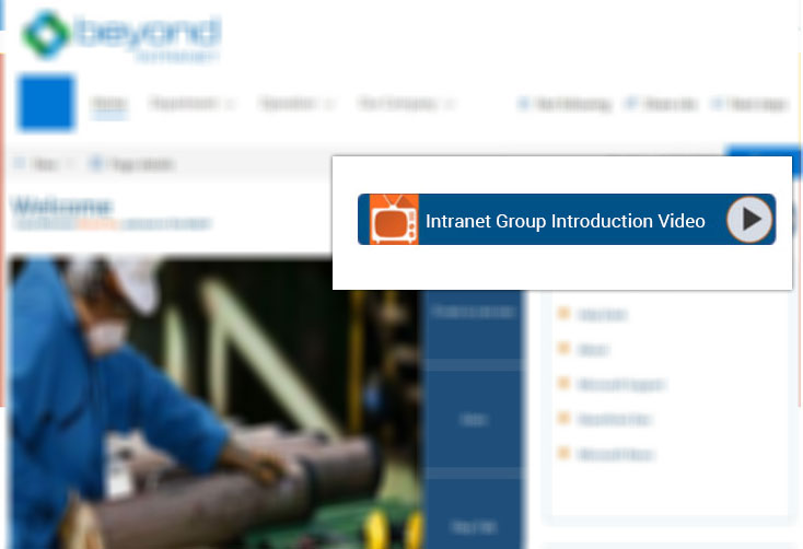 Oil & Gas Intranet