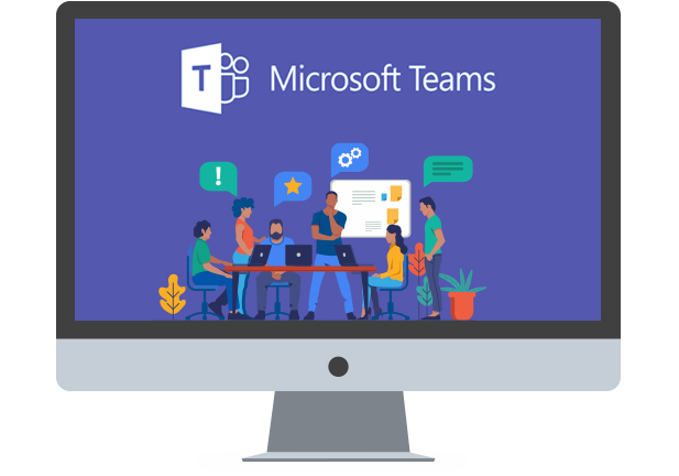 Microsoft Teams: Staying Apart, Working Together